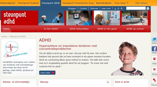 Steunpunt ADHD