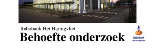 Behoefte onderzoek Rabobank Het Haringvliet