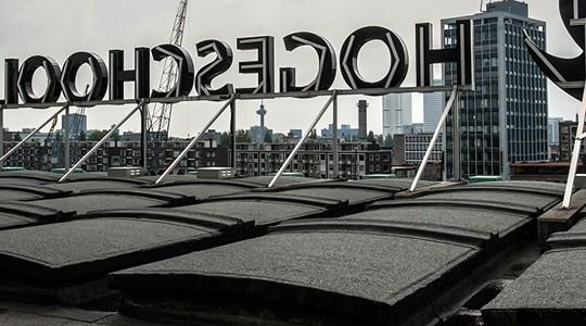 1e Heipaal van de nieuwe Rotterdam Business School