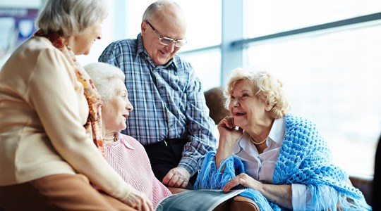 Changing perspective on old age - House of Intergeneration
