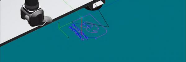 Metaal snijden met een lasrobot
