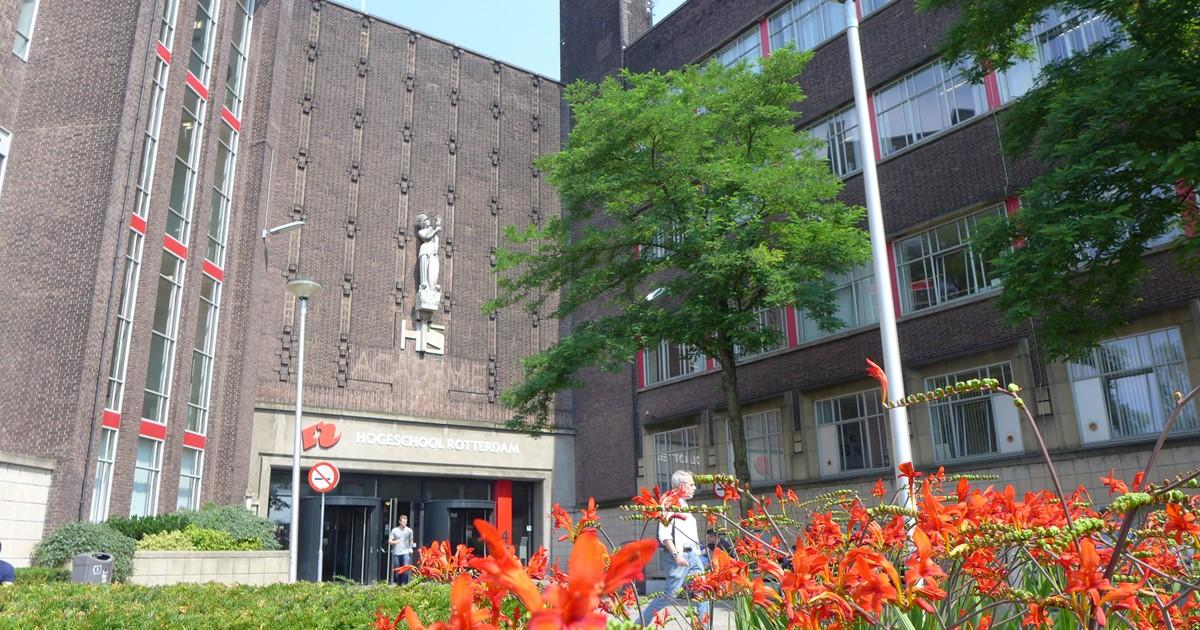 Locatie Academieplein Hogeschool Rotterdam