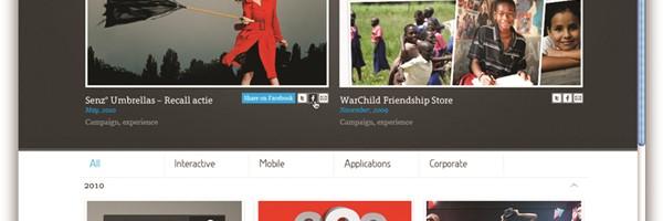 Supersteil Online Portfolio - HTML5 User Experience