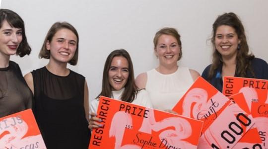 Stimuleringsprijzen Gemeente Rotterdam voor studenten Willem de Kooning Academie