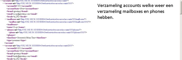 Ontwikkeling Greetinq voicemailsysteem REST webservice.
