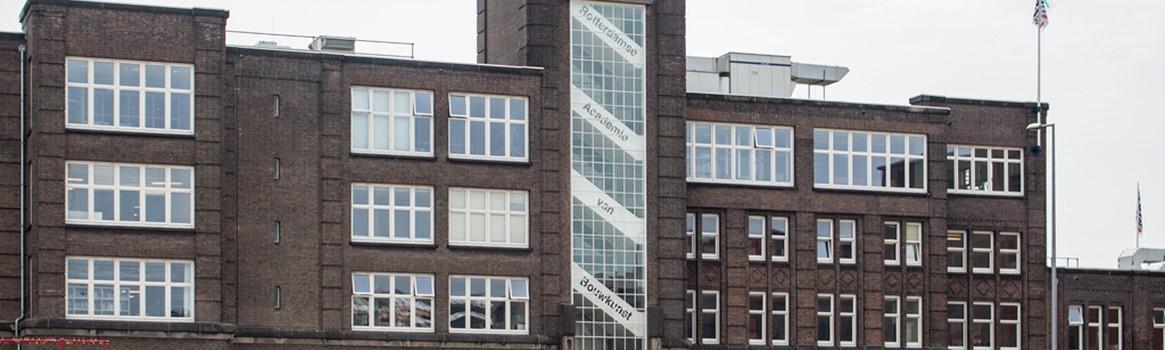 Foto van locatie Rotterdamse Academie voor Bouwkunst