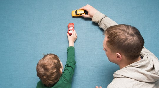 Met vaders voor zonen