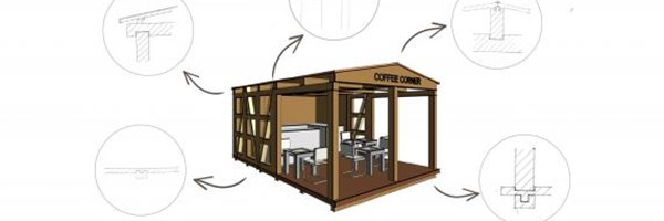 Pop-up coffee corner