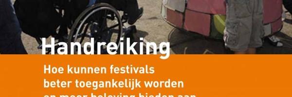 Toegankelijkheid festivals met een beperking