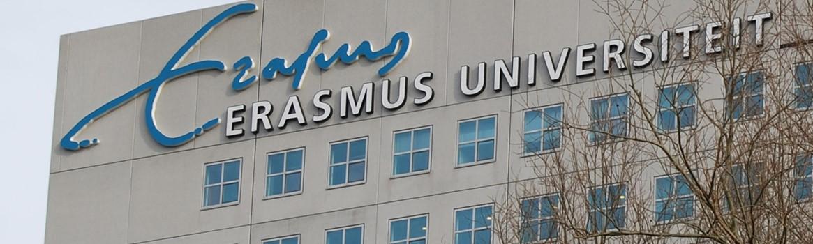 Foto van locatie Erasmus Universiteit Rotterdam
